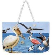 Birds With Strange Beaks Weekender Tote Bag
