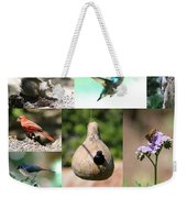 Birdsong Nature Center Collage Weekender Tote Bag