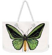 Birdwing Butterfly Weekender Tote Bag