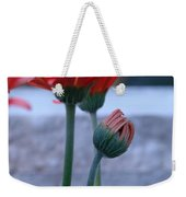 Birth Of A Flower Weekender Tote Bag