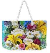 Birthday Bouquet Weekender Tote Bag