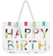 Birthday Candles- Art By Linda Woods Weekender Tote Bag