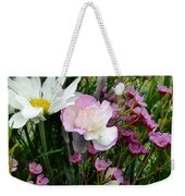 Birthday Flowers Weekender Tote Bag