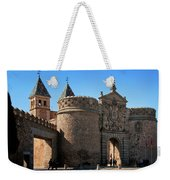 Bisagra Gate Toledo Spain Weekender Tote Bag by Joan Carroll