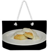 Biscuits And Gravy Weekender Tote Bag