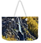 Bishop Creek Falls Weekender Tote Bag