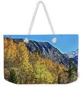 Bishop Creek Mountains Weekender Tote Bag
