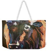 Bison At Dusk Weekender Tote Bag