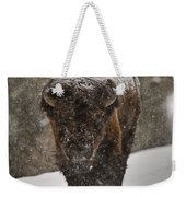 Bison Buffalo Wyoming Yellowstone Weekender Tote Bag