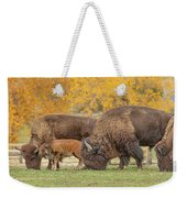 Bison Family Nation Weekender Tote Bag