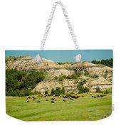 Bison Herd Weekender Tote Bag