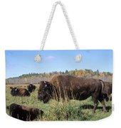 Bison Home On The Range Weekender Tote Bag