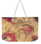 Bisons From The Caves At Altamira Weekender Tote Bag by Prehistoric