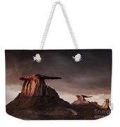 Bisti Badlands, New Mexico, Usa Weekender Tote Bag