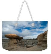 Bisti Fissure New Mexico Weekender Tote Bag