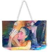 Bite Marks Are Love Notes Written In Flesh. Weekender Tote Bag
