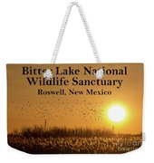 Bitter Lake National Wildlife Refuge Birds, Roswell, New Mexico Weekender Tote Bag