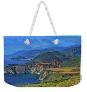 Bixby Bridge 1 Weekender Tote Bag
