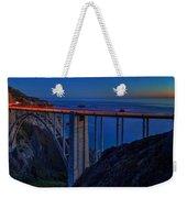 Bixby Bridge  Weekender Tote Bag