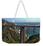 Bixby Creek Bridge 5 Weekender Tote Bag