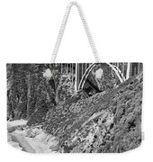Bixby Creek Bridge Big Sur Photo  Circa 1939 Weekender Tote Bag