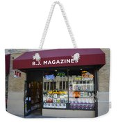 B.j. Magazines New York Weekender Tote Bag