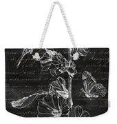 Black And Gold Hummingbirds 2 Weekender Tote Bag