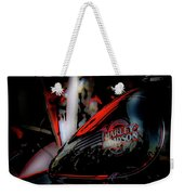 Black And Red Harley 5966 H_2 Weekender Tote Bag