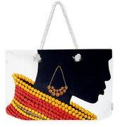 Black And Red - Original Artwork Weekender Tote Bag