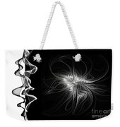 Black And White - 2 - Negative Weekender Tote Bag