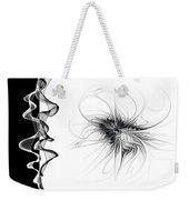 Black And White - 2 Weekender Tote Bag