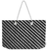Black And White Abstract Lines Weekender Tote Bag