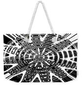 Black And White Abstracts Weekender Tote Bag
