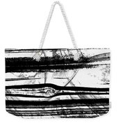Black And White Art - Layers - Sharon Cummings Weekender Tote Bag
