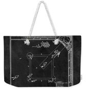 Black And White Baseball Game Patent Weekender Tote Bag