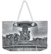 Bedesta Statue Black And White  Weekender Tote Bag