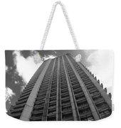 Black And White Brutalist Barbican Weekender Tote Bag