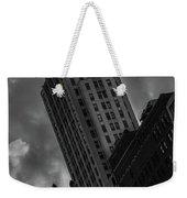 Black And White Buildings Weekender Tote Bag