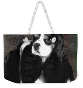 Black And White Cookie Weekender Tote Bag