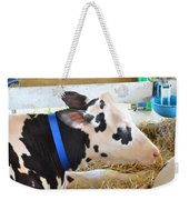 Black And White Cow 2 Weekender Tote Bag
