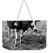 Black And White Cow Weekender Tote Bag