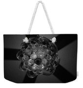 Black And White Crystal Weekender Tote Bag