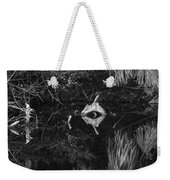 Black And White Cyclops Weekender Tote Bag