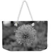Black And White Flowers Weekender Tote Bag