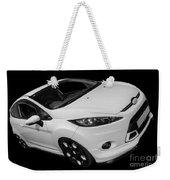 Black And White Ford Fiesta Weekender Tote Bag