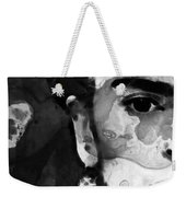 Black And White Frida Kahlo By Sharon Cummings Weekender Tote Bag