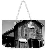 Black And White Gin Weekender Tote Bag