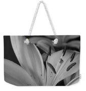 Black And White Lilies 2 Weekender Tote Bag