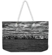 Black And White Mad Town Weekender Tote Bag
