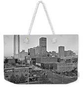 Black And White Okc  Weekender Tote Bag